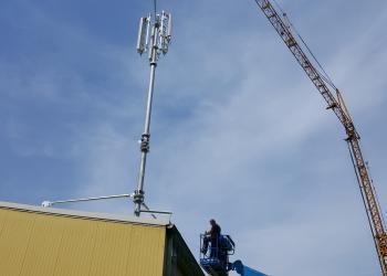 Bis Ostern geht der Mobilfunkmast in Marktsteinach bereits in Betrieb.
