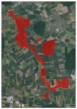 Luftbild Unkenbachaue