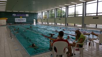 Jedes Jahr aufs neue ein Highlight: Das 24-Stunden-Schwimmen der DLRG Schonungen im Hallenbad
