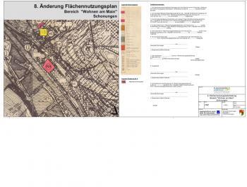 8. Änderung Flächennutzungsplan