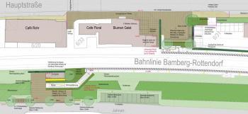So könnte Schonungens neuer Bahnhaltepunkt bald aussehen