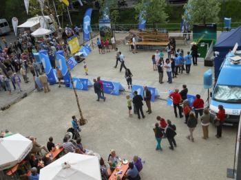 Nach der grandiosen Qualifikation auf dem Marktplatz steht die Großgemeinde nun im Finale