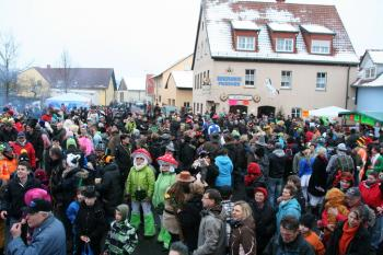 Auf Abersfeld folgt Mainberg: Die Schlossgeister sind 2014 Ausrichter des großen Umzugs