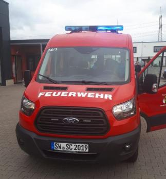 Der neue Mannschaftstransportwagen konnte jetzt in Dienst gestellt werden. Foto Torsten Köhler