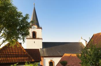 Die Alte Kirche im Herzen Schonungens ist beliebter Veranstaltungsort