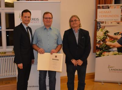 Der Empfang für Ehrenamtliche des Landkreises Schweinfurt fand diesmal im Kloster Heidenfeld statt. (Fotos: Landratsamt Schweinfurt, Uta Baumann)